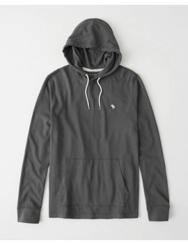 Long Sleeve Icon Hoodie by Abercrombie & Fitch