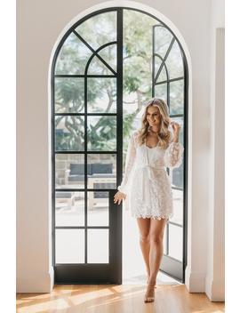 Lace Robe / Lace Bridal Robe / Bridesmaid Robes / Robe / Bridal Robe / Bride Robe / Bridal Party Robes / Maya by Etsy