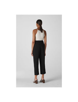 Belted Casual Crop Trouser by Whistles