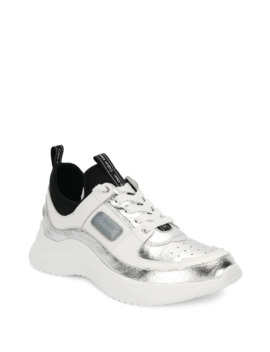 Ultra Lace Up Sneakers by Calvin Klein