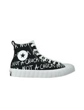 "Converse Untitl3 D Hi ""Black/White"" Men's Shoe by Hibbett"