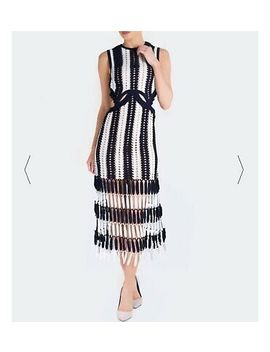 <Span><Span>Self Portrait Navy Crochet Dress</Span></Span> by Ebay Seller