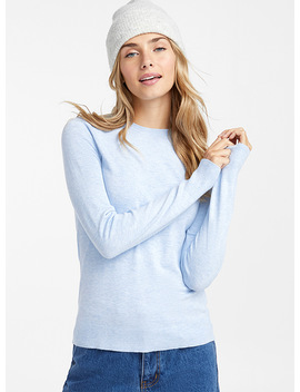 Le Pull Col Rond Uni by Twik