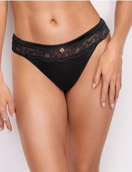Silk & Lace Thong by Marks & Spencer