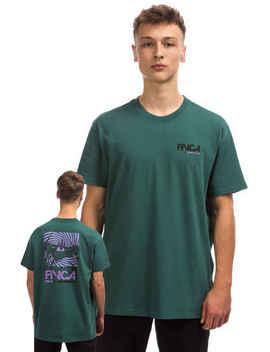 Rvca Vampire Bat T Shirt (Alpine) by Rvca