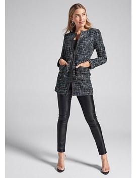 Long Tweed Jacket by Venus