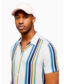 Light Multicoloured Stripe Slim Shirt by Topman