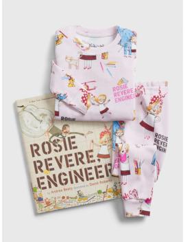 Baby Gap Books To Bed Rosie Revere, Engineer Pj Set by Gap