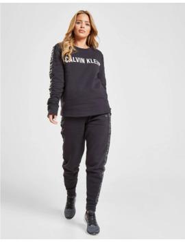 Calvin Klein Performance Tonal Tape Crew Sweatshirt by Calvin Klein