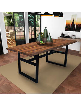 Gable Live Edge Dining Table by Costco