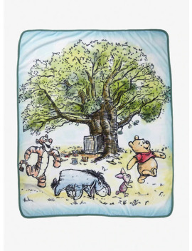 Disney Winnie The Pooh Group Throw   Box Lunch Exclusive by Box Lunch