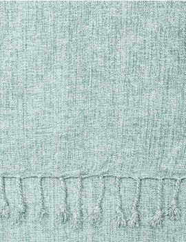 Lightweight Chenille Throw by Marks & Spencer