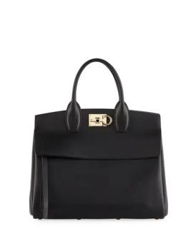 Salvatore Ferragamo Studio Medium Top Handle Bag by Salvatore Ferragamo