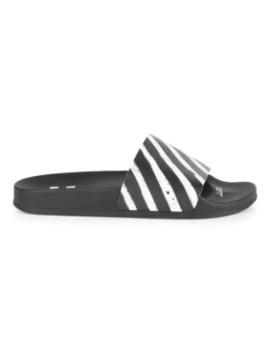 Striped Spray Slides by Off White