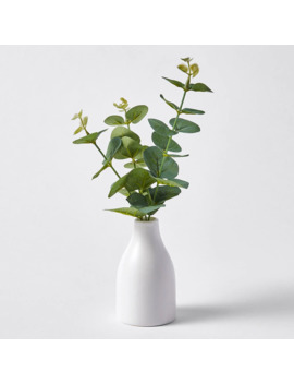 Faux Eucalyptus Leaves In Bud Vase by Target