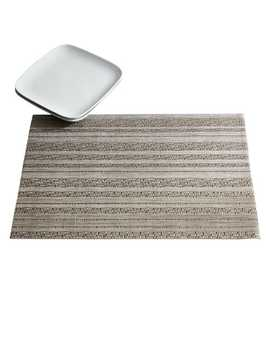 Tabella Horizon Silver Striped Placemat by Pier1 Imports