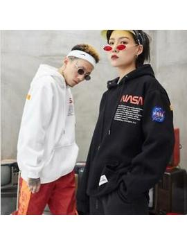 2019 Nasa Lovers Thicken Hoodie Hooded Casual Wear Fashion New Top Pullover by Ebay Seller