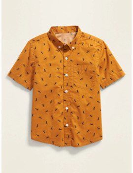 Built In Flex Pocket Shirt For Boys by Old Navy