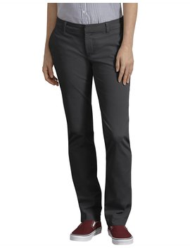 Women's Perfect Shape Straight Leg Twill Pants by Dickies