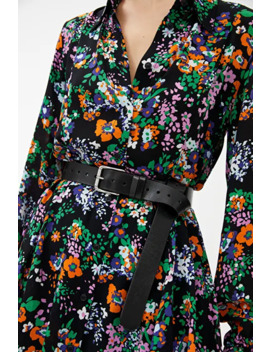 Fluid Long Sleeved Shirt Dress by Arket