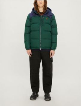 Water Repellant Shell Down Jacket by Polo Ralph Lauren