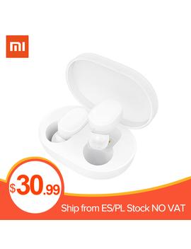 Xiaomi Mi Airdots Youth Version Tws Bluetooth5.0 Earphones Wireless Headphone In Ear Earbuds Earphone Headset by Ali Express.Com
