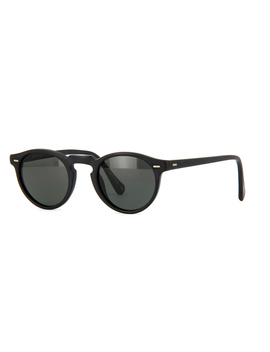 Oliver Peoples Gregory Peck Sun Ov5217 S 1031/P2 Matte Black/Midnight Express Polarised by Oliver Peoples Sunglasses