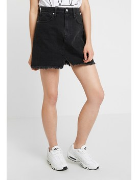 Cutout Reconstructed Skirt   Jeansrock by Madewell