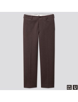Pantaloni Uniqlo U Jersey Ampi Dritti Uomo by Uniqlo