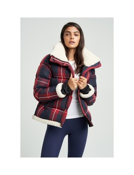 Colby Plaid With Shearling Jacket by Sam. Outerwear