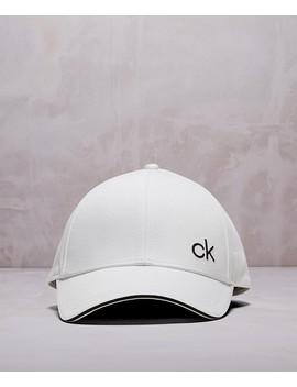 Small Logo Cap by Calvin Klein