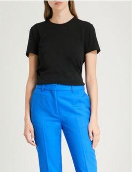Jenna Cotton Jersey T Shirt by Ninety Percent