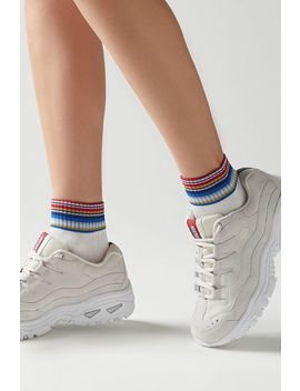 Sport Striped Crew Sock by Urban Outfitters