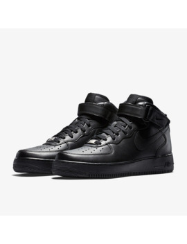 Nike Sportswear Air Force 1 Mid 07   Triplo Nero by Pro Direct Soccer