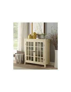 Leslie Double Door Cabinet by Ashley Homestore