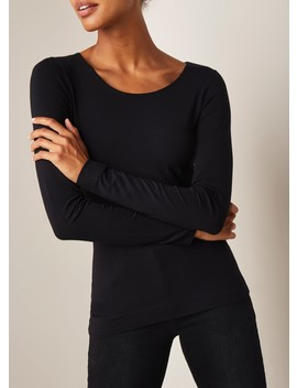 Basic Longsleeve Met Ronde Hals by Claudia Sträter