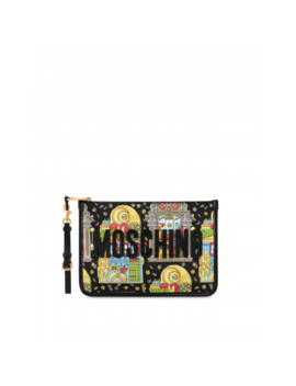 Slot Machine Clutch Bag by Moschino