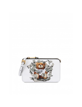 Dollar Teddy Bear Shoulder Bag by Moschino