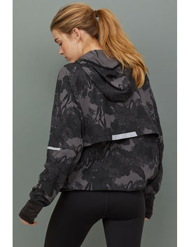 Hooded Popover Running Jacket by H&M
