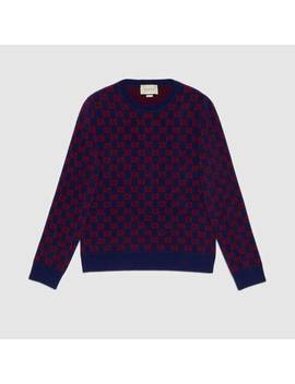 Gg Wool Jumper by Gucci
