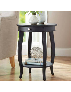 Better Homes & Gardens Round Accent Table With Drawer, Multiple Colors by Better Homes & Gardens