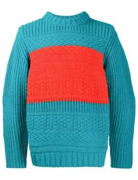 Pullover In Colour Block Optik by Paul Smith