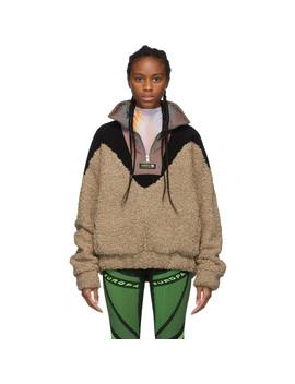 Beige Europa Fleece Pullover by Misbhv