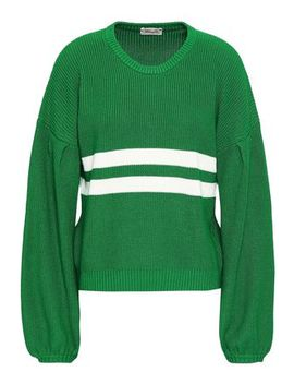 Intarsia Cotton Blend Sweater by Baum Und Pferdgarten