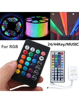 24 Key / 44 Key / Music Ir Remote Controller Box Ac/Dc 12 V For 5050 3528 Rgb Led Strip Light  by Wish