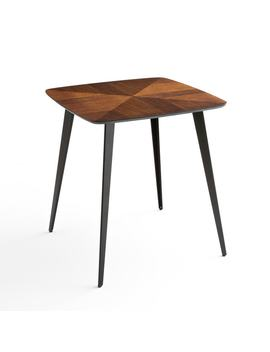 Watford Bistro Style Inlaid Dining Table, Seats 2 by La Redoute Interieurs