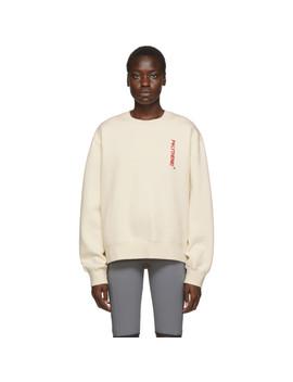 Off White Vertical Sweatshirt by Polythene* Optics