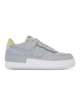 Grey Shadow Air Force 1 Sneakers by Nike