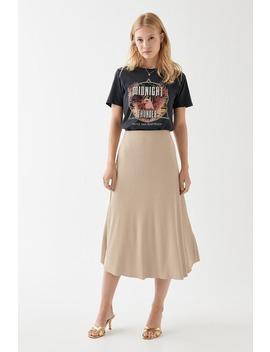 Felicia Rib Skirt by Ginatricot