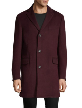 Notch Collar Coat by Black Brown 1826